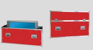 Transportkoffer für Plasma- und LCD-Bildschirme von Hafels Umzüge
